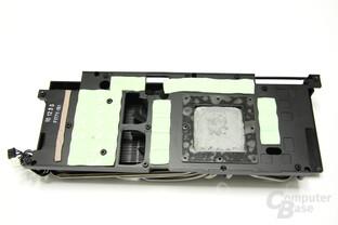 GeForce GTX 580 Phantom Kühlerrückseite
