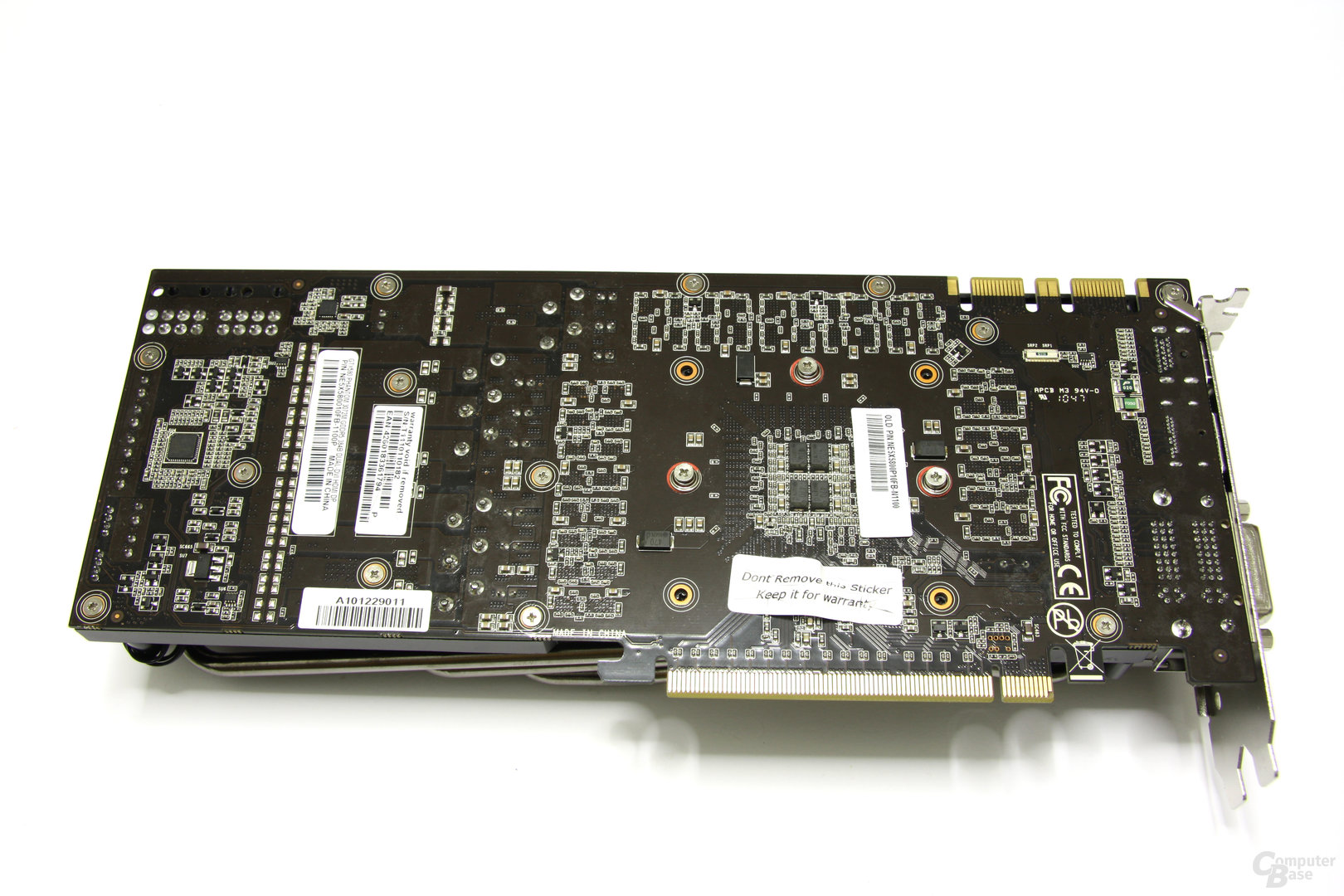 GeForce GTX 580 Phantom Rückseite