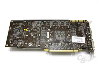 GeForce GTX 580 TFII OC Rückseite