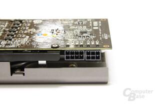 GeForce GTX 580 TFII OC Stromanschlüsse