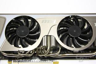 GeForce GTX 580 TFII OC Doppellüfter