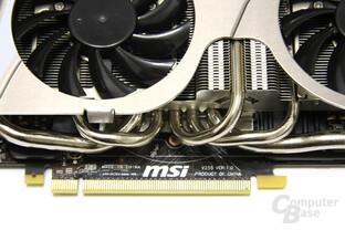 GeForce GTX 580 TFII OC Heatpipes 2