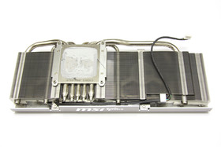 GeForce GTX 580 TFII OC Kühlerrückseite