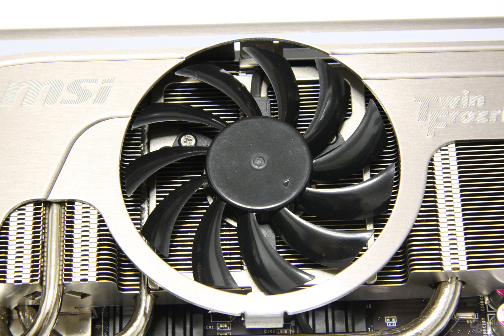 GeForce GTX 580 TFII OC Lüfter