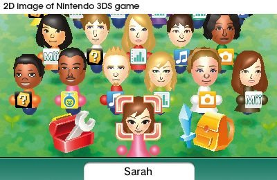 3DS Mii-Plaza