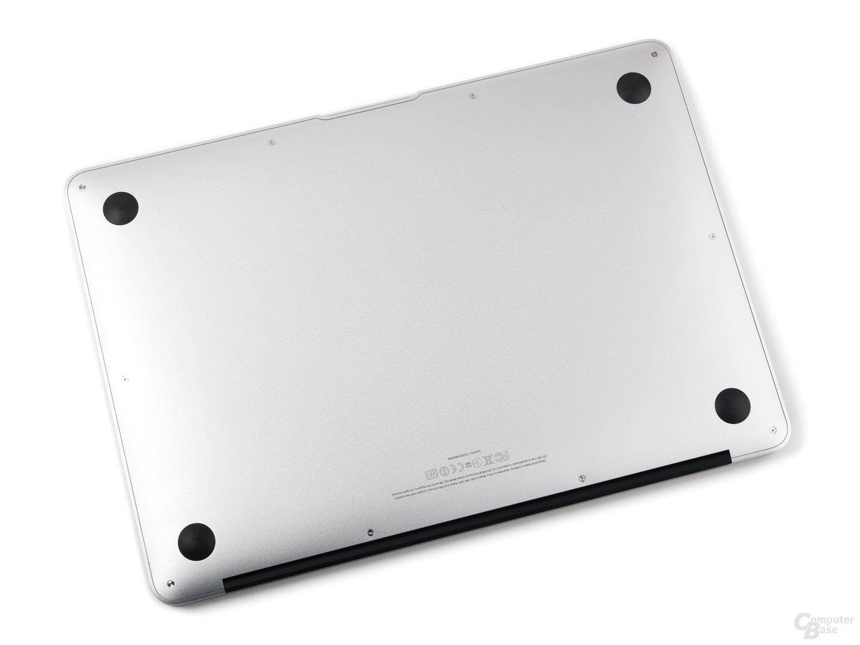 MacBook Air: Unterseite