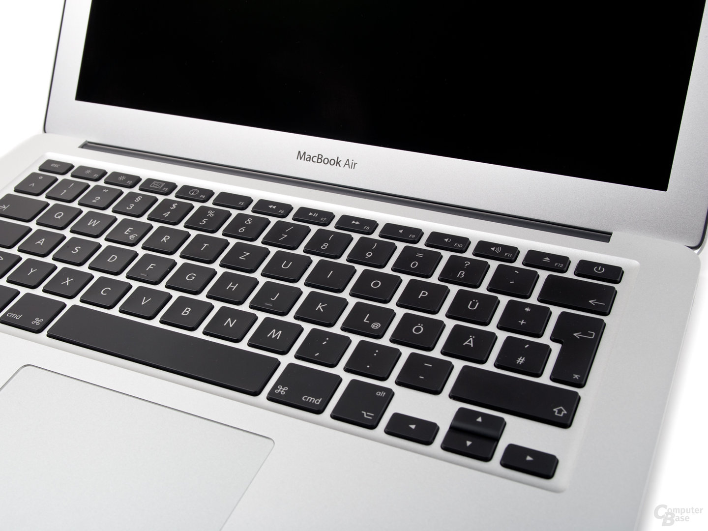 MacBook Air: Tastatur