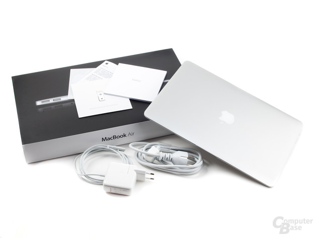 MacBook Air: Lieferumfang