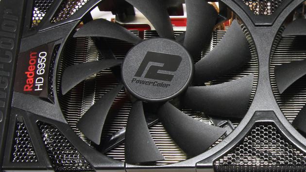 HD 6950 PCS+ im Test: PowerColor macht per BIOS aus HD 6950 eine HD 6970