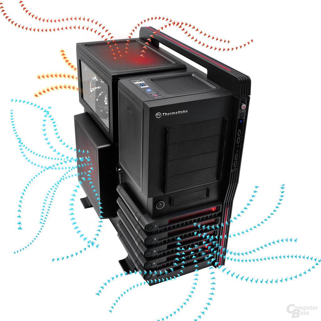 Thermaltake Level 10 GT – Airflow