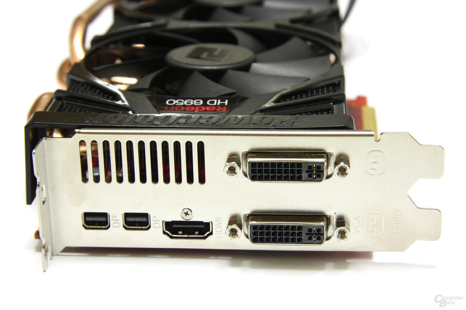 Radeon HD 6950 PCS++ Slotblech