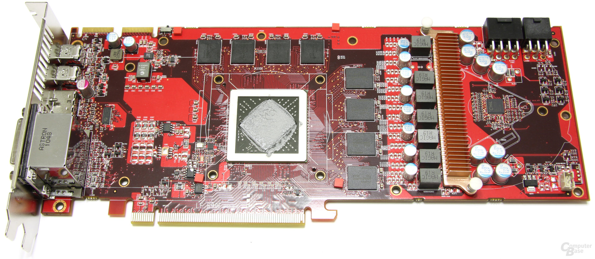 Radeon HD 6950 PCS++ ohne Kühler