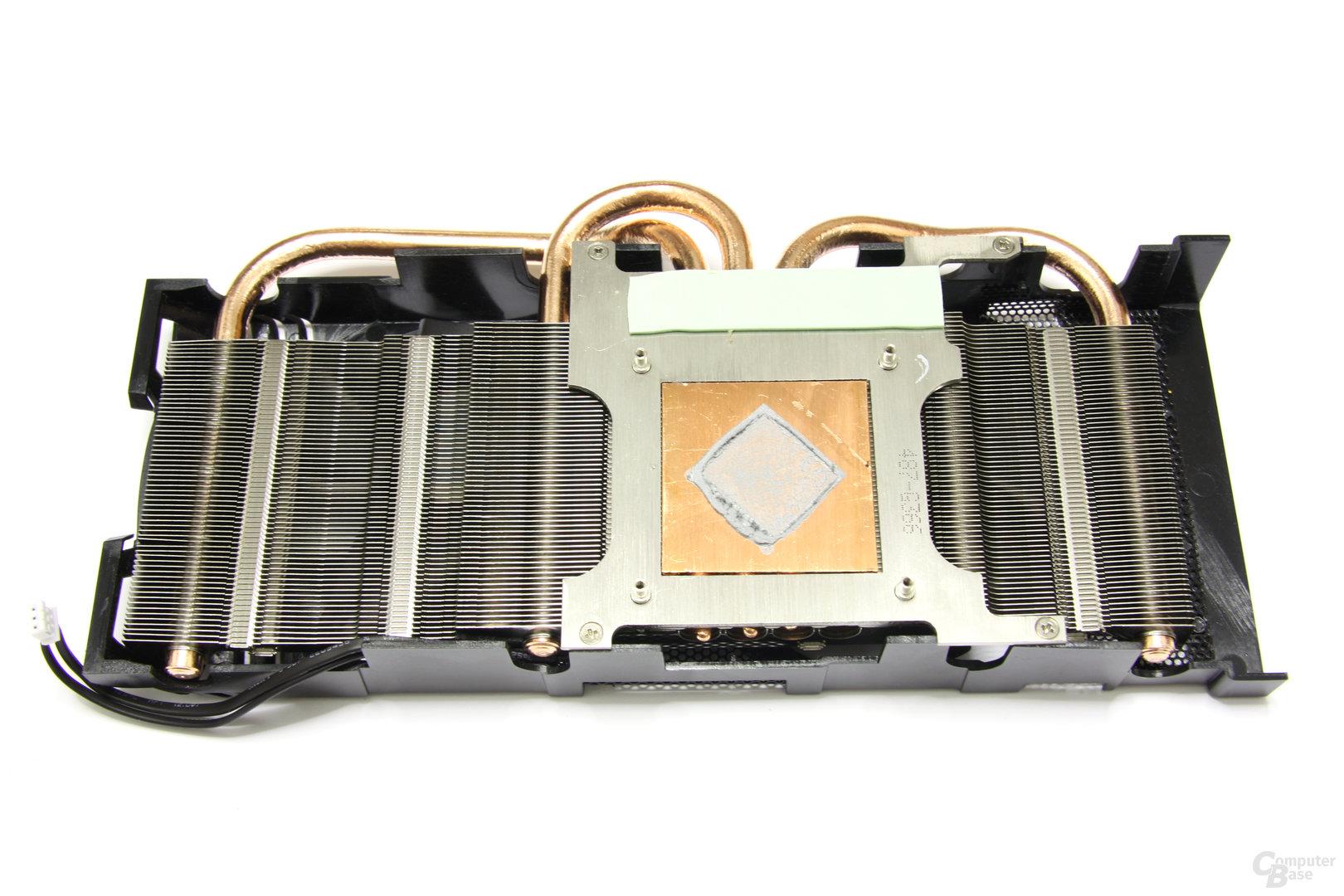 Radeon HD 6950 PCS++ Kühlerrückseite