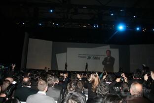 MWC - Samsung-Präsentation
