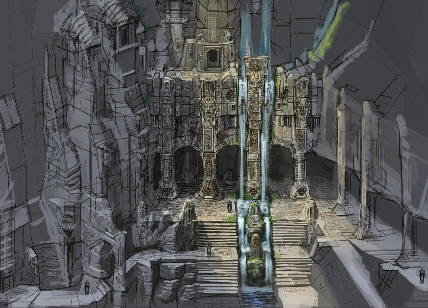 """""""TES V: Skyrim"""" Artwork"""