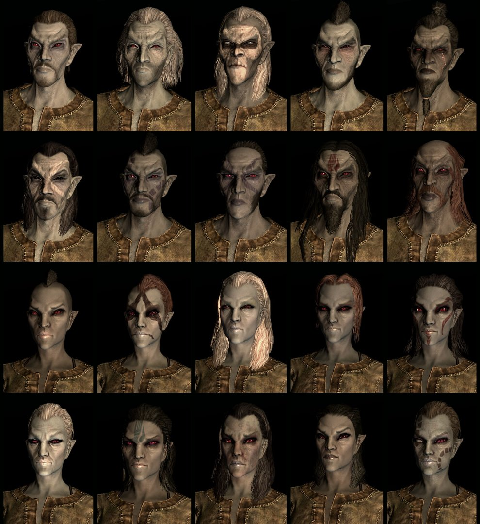 Dark Elf Compilation