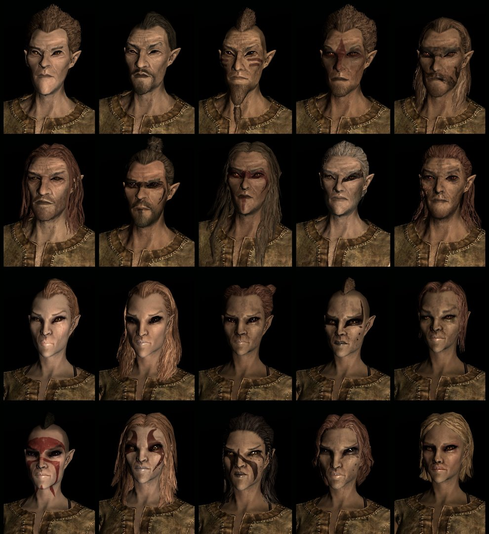 Wood Elf Compilation
