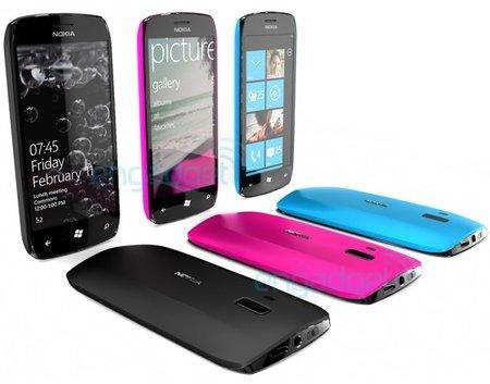 Nokia Windows Phone 7 (Konzept)
