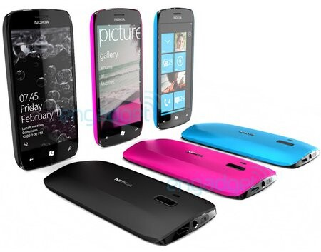 Nokia Windows Phone 7 (Konzept)