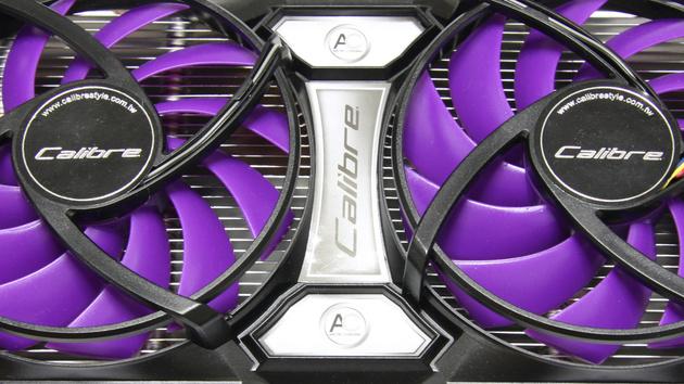 Sparkle-Karte im Test: GeForce GTX 560 Ti ist eine heimliche GTX 570 in lila