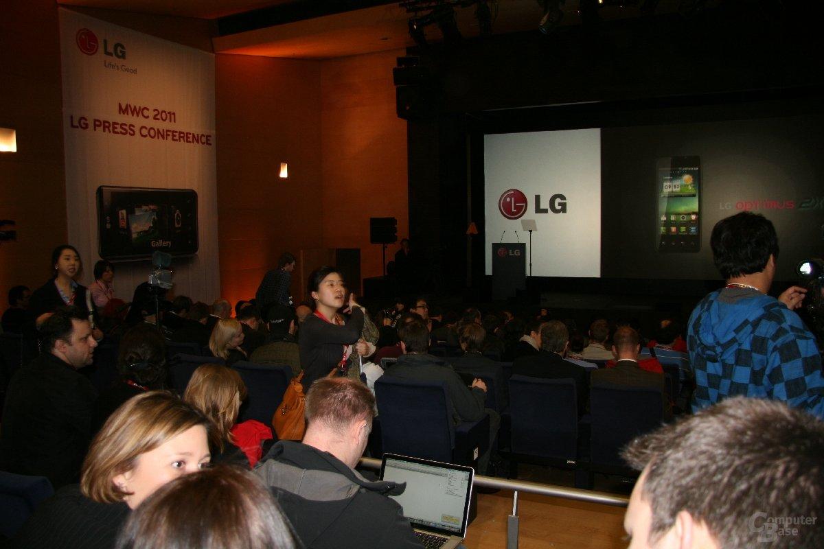 LG MWC-Präsentation