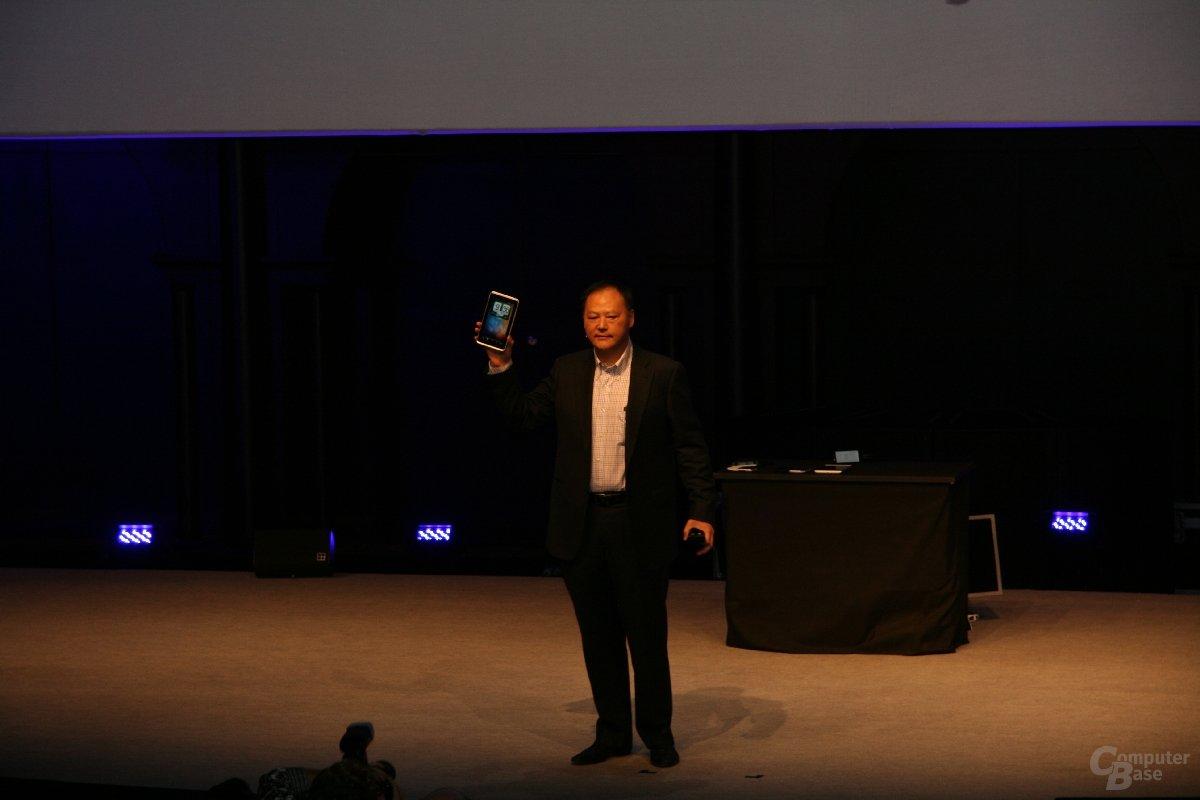 MWC - HTC-Präsentation