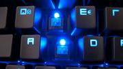 Razer BlackWidow Ultimate im Test: Viel Lärm und blaue Kirschen