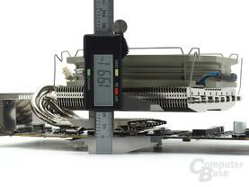 Abstand zwischen Kühler und PCB
