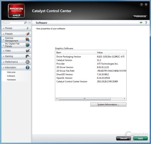 AMD Catalyst 11.2