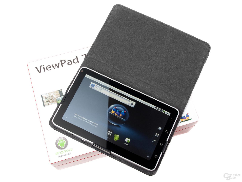 Standard-Oberfläche des ViewPad 7