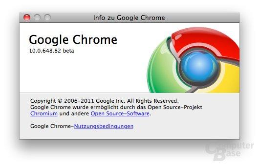Chrome 10 Beta