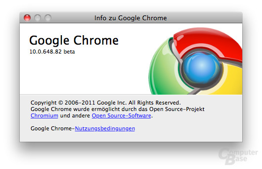 Chrome 10 Beta