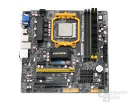 Foxconn A88GA-S mit CPU und RAM