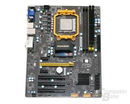 Foxconn A88GM-Deluxe mit CPU und RAM