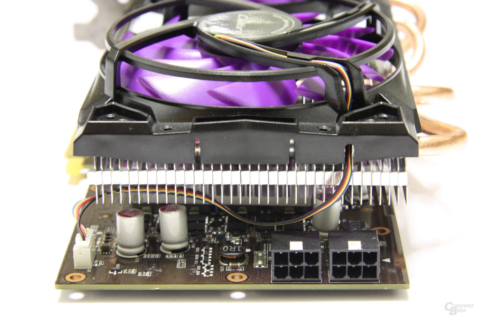 Calibre GTX 560 Super OC von hinten