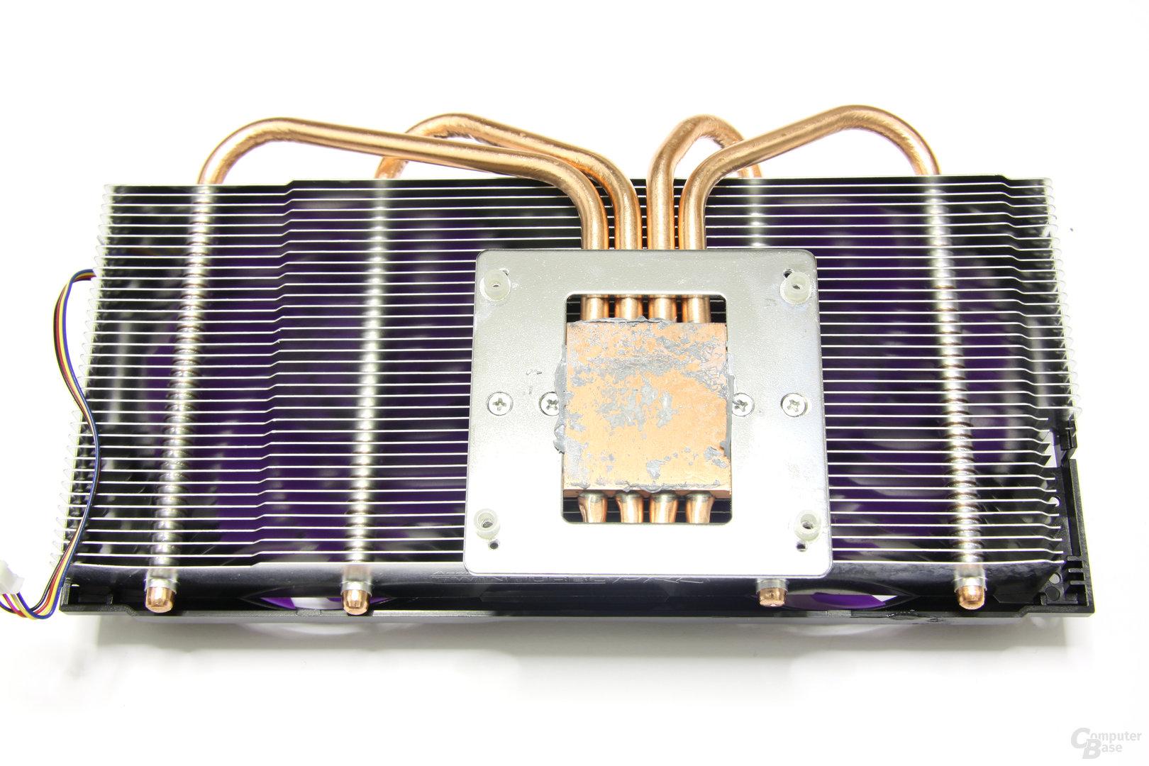 Calibre GTX 560 Super OC Kühlerrückseite