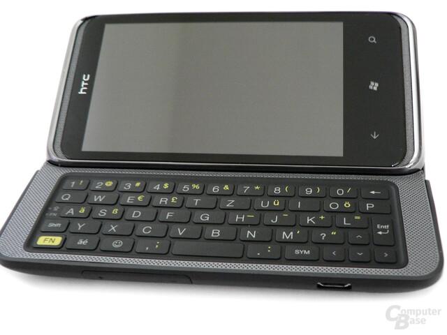 Kann sich sehen lassen: Die Tastatur des HTC 7 Pro