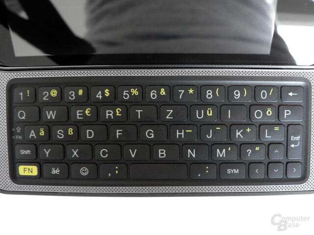 HTC 7 Pro – Tastatur