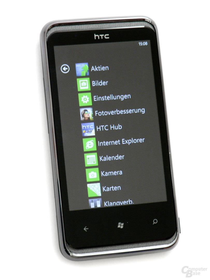 HTC 7 Pro – Front