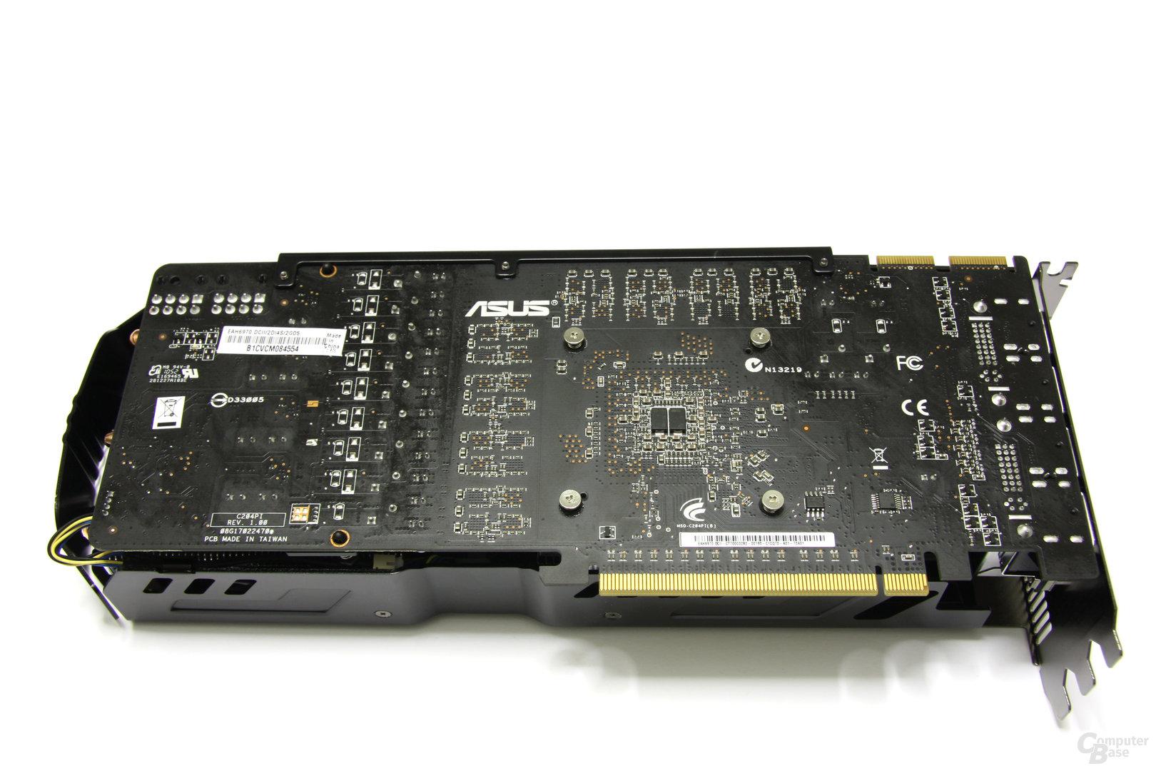 Radeon HD 6970 DirectCU II Rückseite