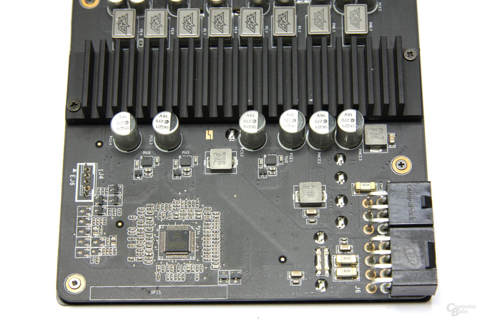 GeForce GTX 570 DirectCU II Bauteile 2