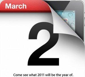 Apple Event am 2. März 2011