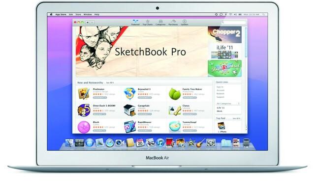 Mac OS X Lion – Mac App Store