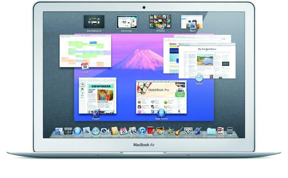 Mac OS X Lion – Mission Control