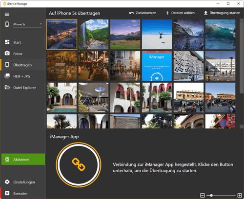 iDevice Manager – Fotos und Videos auf iPhone kopieren