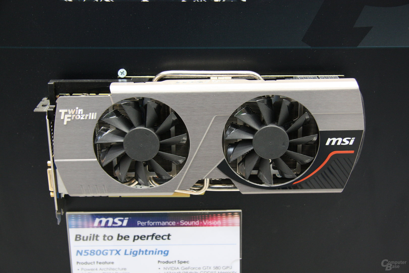 MSI Twin Frozr III (bekannt) auf der CeBIT 2011
