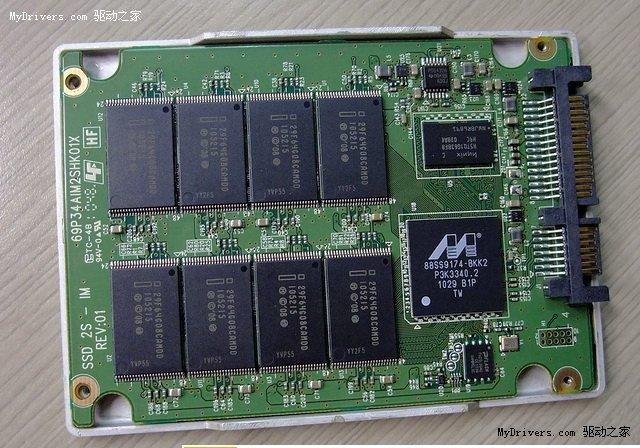 Intel SSD 510 (120 GB): Innenleben