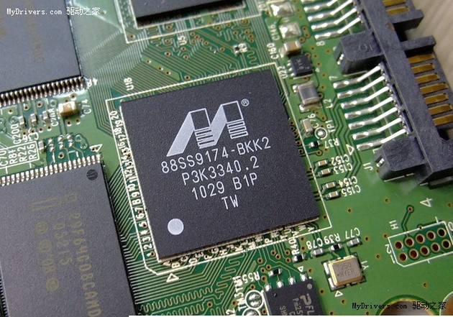 Intel SSD 510 (120 GB): Der Marvell-Controller