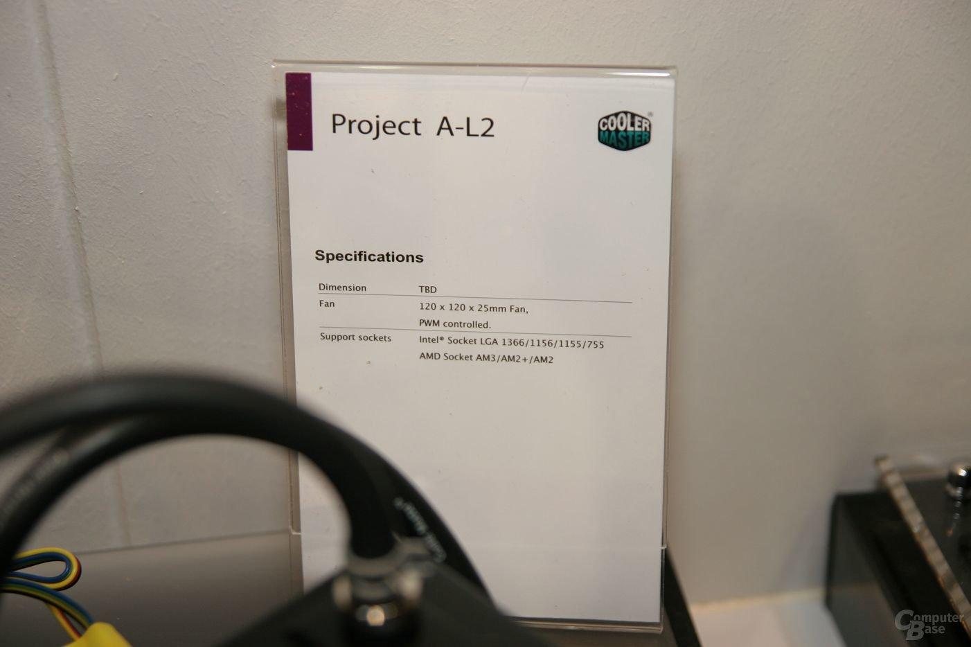 Cooler Master Project A-L2
