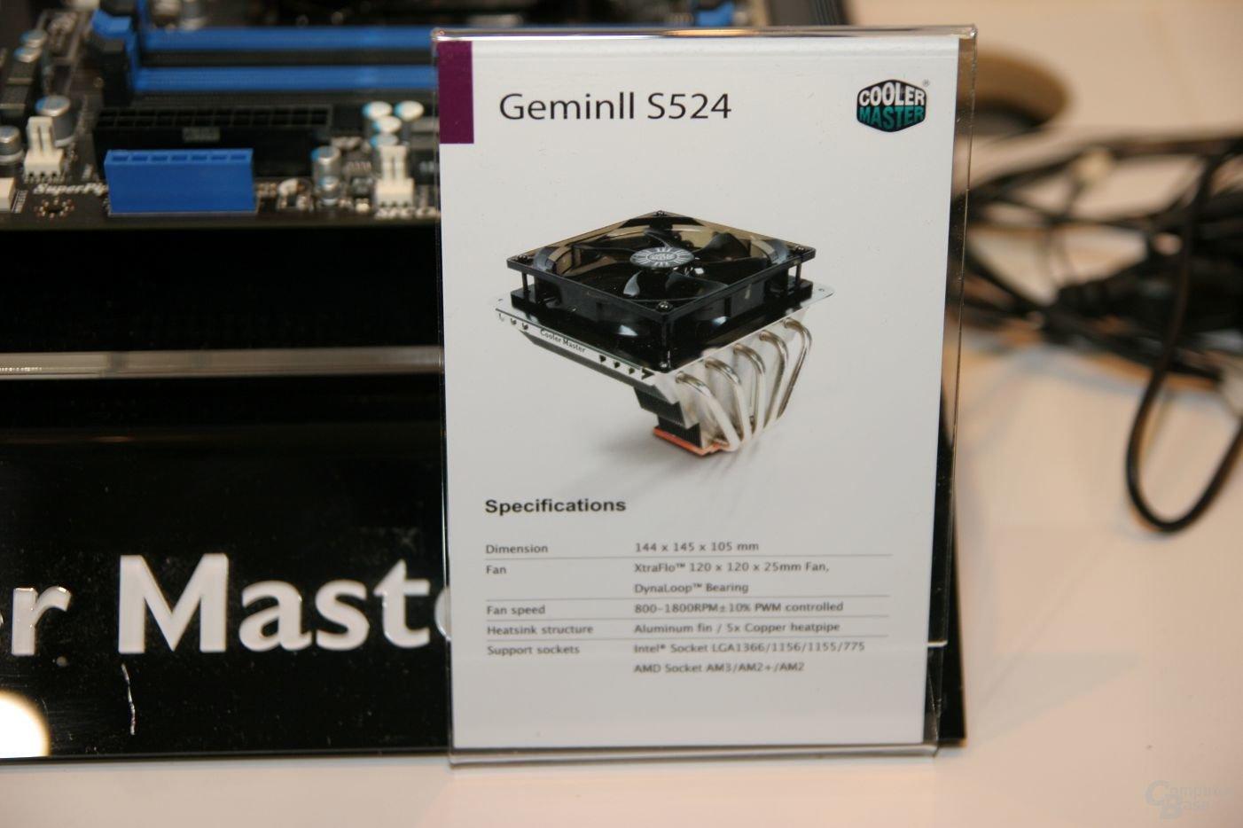 Cooler Master Gemin II S524